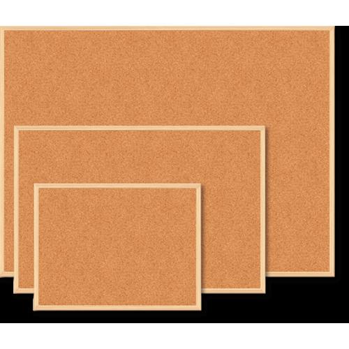 Доска пробковая JOBMAX, 90х120см, деревянная рамка