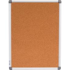 Доска пробковая, 45x60см, алюминиевая рамка