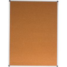 Доска пробковая, 90х120см, алюминиевая рамка