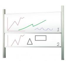 Доски для маркера / маркера 120x250, STSS1225P3