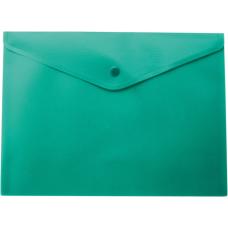 Папка-конверт А5 на кнопке, бирюзовый