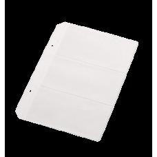 Файл для 6 визиток, PVC