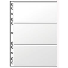 Файл для банкнот А4, 11отверстий, PVC