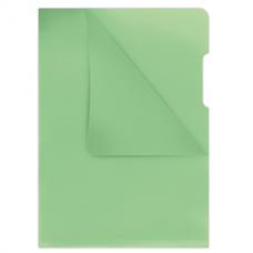 Папка-уголок А4, 180мкм, зеленый