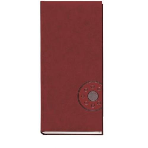 Книга алфавитная 135х285мм, 176 листов., 135х285мм, баладек бордо