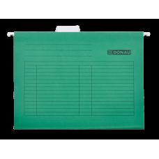 Подвесной файл А4, картон, зеленый