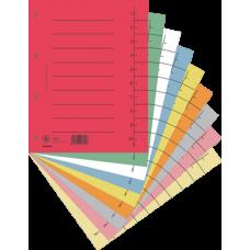 Индекс-разделитель A4, 100 шт., картон, ассорти