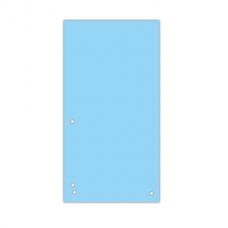 Индекс-разделитель 105х230 мм, 100шт., картон, синий