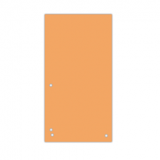 Индекс-разделитель 105х230 мм, 100шт., картон, оранжевый
