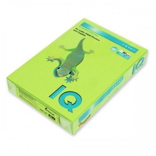 Бумага цветная интенсив А4, 500 листов, зеленый