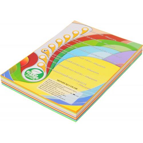 Набор бумаги цв. интенс. и паст IQ, А4/80 (10х25/250л.)