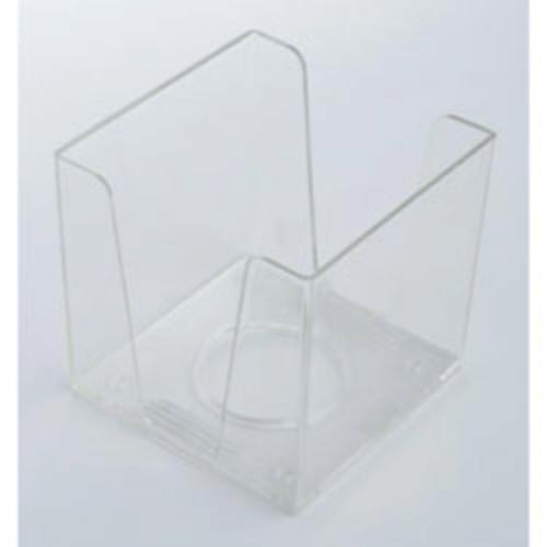 Бокс для бумаги, 90 х 90 х h90мм, прозрачный