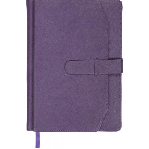 Ежедневник датированный 2019 CREDO, A5, фиолетовый