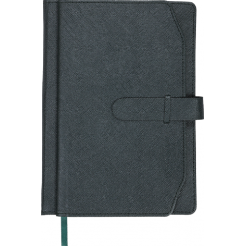 Ежедневник датированный 2019 CREDO, A5, серый