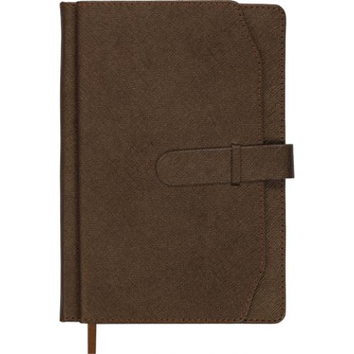 Ежедневник датированный 2019 CREDO, A5, коричневый