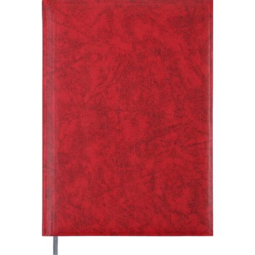 Ежедневник недатированный BASE A4, красный