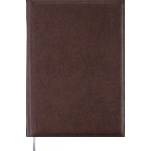 Ежедневник недатированный BASE A4, коричневый