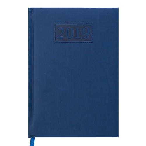 Ежедневник датированный 2019 GENTLE (Torino), A5, синий