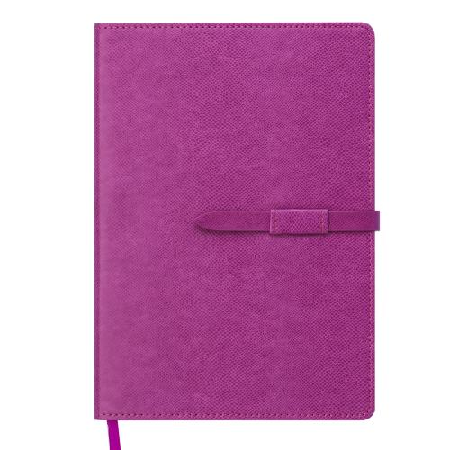 Ежедневник датированный 2019 SOPRANO, A5, 336 стр., малиновый