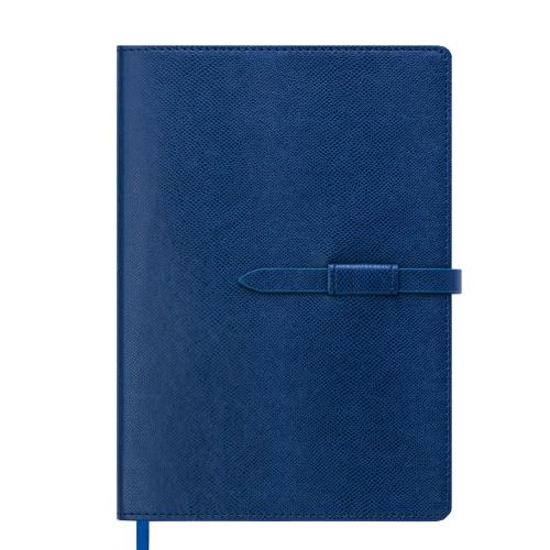 Ежедневник датированный 2019 SOPRANO, A5, 336 стр., синий электрик