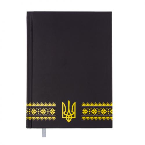 Ежедневник датированный 2019 UKRAINE, A5, темно-синий