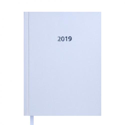 Ежедневник датированный 2019 STRONG, A5, белый