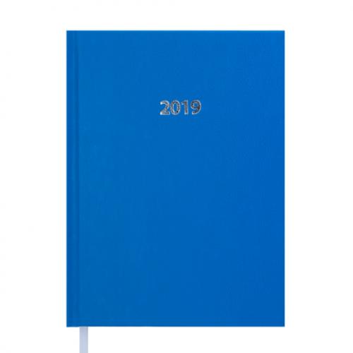 Ежедневник датированный 2019 STRONG, A5, светло-синий