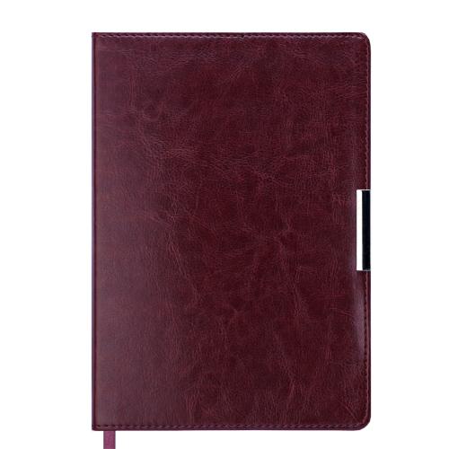 Ежедневник датированный 2019 SALERNO, A5, коричневый