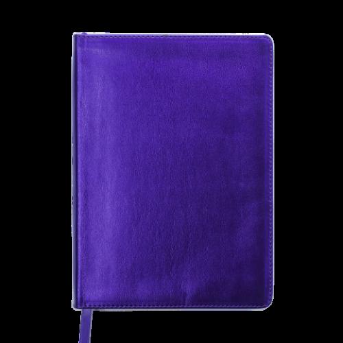 Ежедневник датированный 2019 METALLIC, A5, фиолетовый