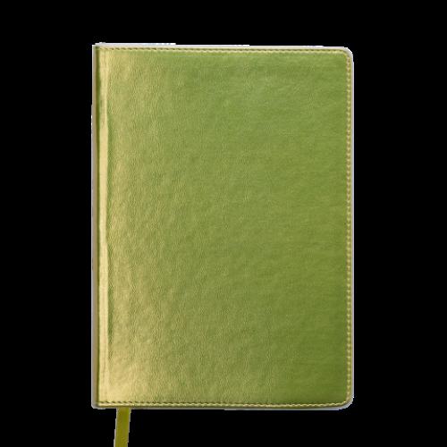 Ежедневник датированный 2019 METALLIC, A5, желтый