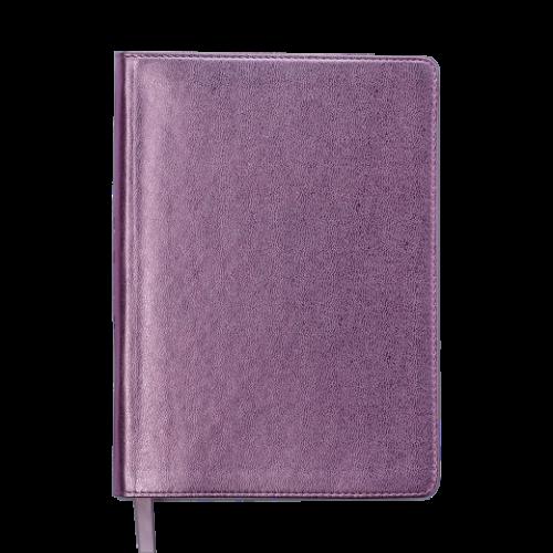 Ежедневник датированный 2019 METALLIC, A5, розовый