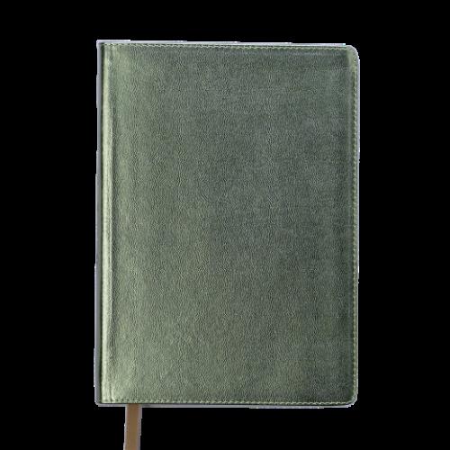 Ежедневник датированный 2019 METALLIC, A5, золотистый