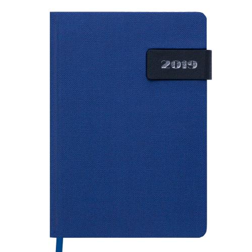 Ежедневник датированный 2019 WINDSOR, A5, 336 стр., синий
