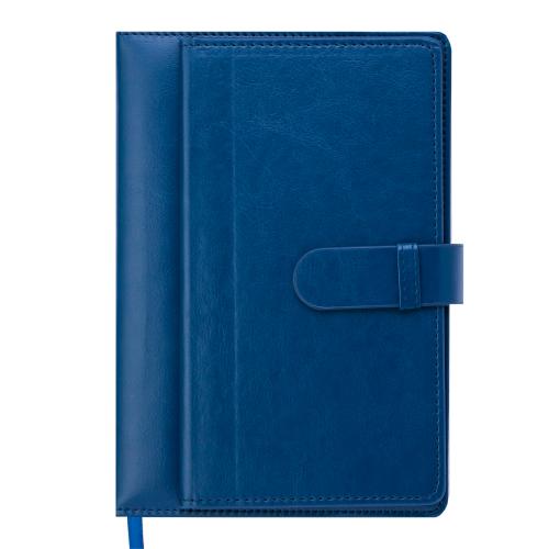 Ежедневник датированный 2019 EPOS, A5, 336 стр., темно-синий