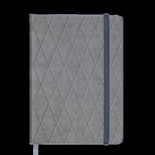 Ежедневник датированный 2019 CASTELLO, A5, серый
