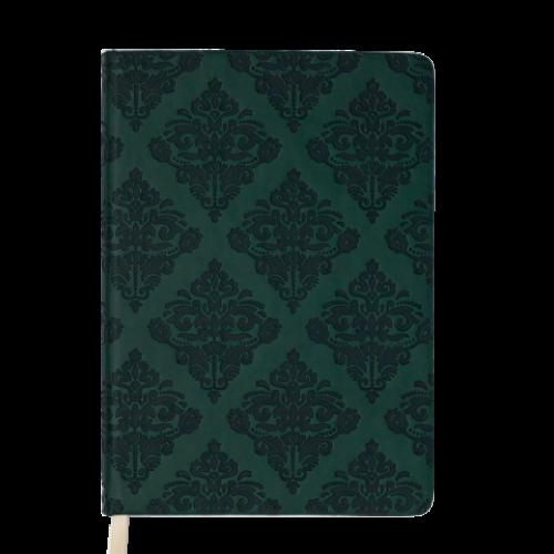 Ежедневник датированный 2019 CASTELLO VINTAGE, A5, 336 стр., т.-зеленый