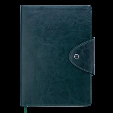 Ежедневник датированный 2019 BUSINESS, A5, зеленый