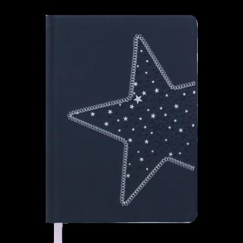 Ежедневник датированный 2019 STELLA, A5, 336 стр., черный
