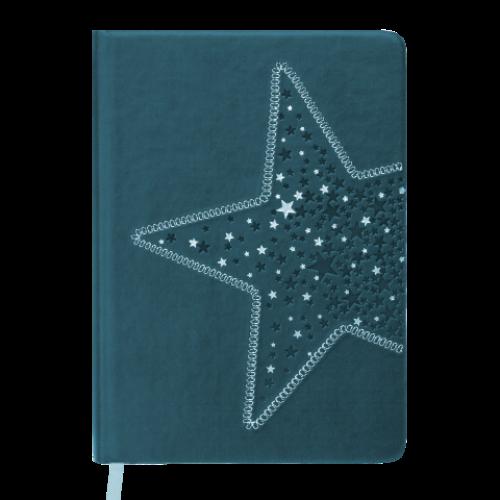 Ежедневник датированный 2019 STELLA, A5, 336 стр., т-бирюзовый