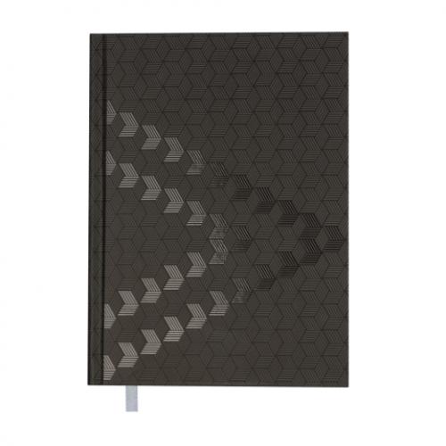 Ежедневник датированный 2019 MONOCHROME, A5, черный