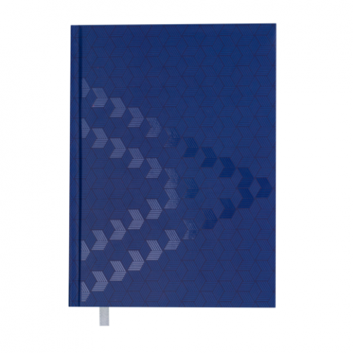 Ежедневник датированный 2019 MONOCHROME, A5, синий