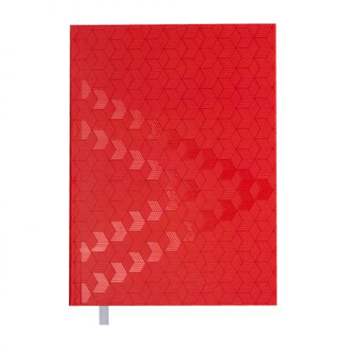 Ежедневник датированный 2019 MONOCHROME, A5, красный