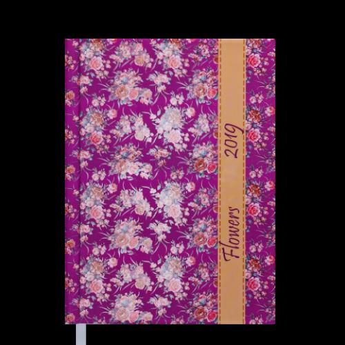 Ежедневник датированный 2019 PROVENCE, A5, 336 стр. розовый