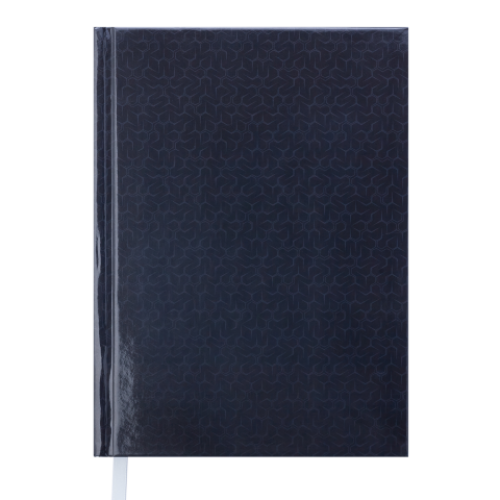 Ежедневник датированный 2019 VELVET, A5, черный