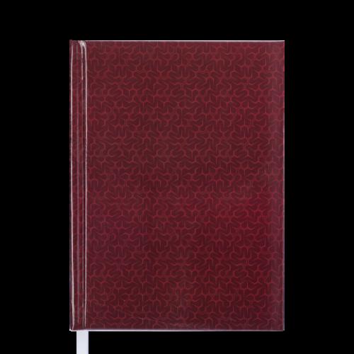 Ежедневник датированный 2019 VELVET, A5, бордовый