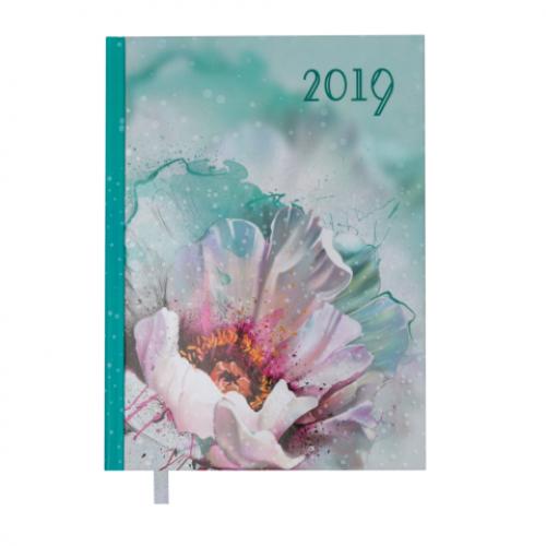 Ежедневник датированный 2019 SPOLETO, A5, 336 стр., белый
