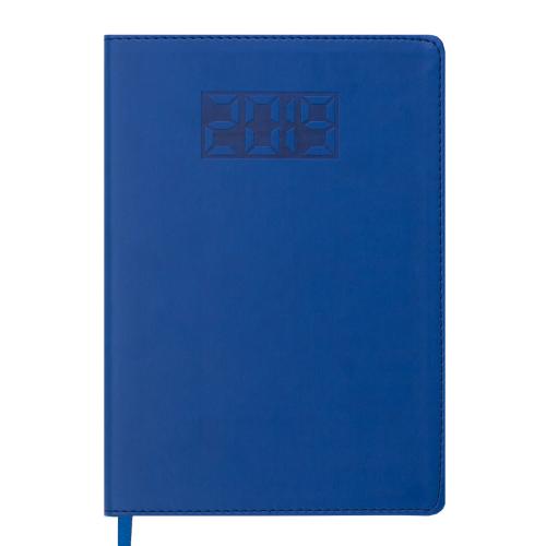 Ежедневник датированный 2019 PROFY, A5, 336 стр., синий