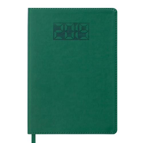 Ежедневник датированный 2019 PROFY, A5, 336 стр., зеленый