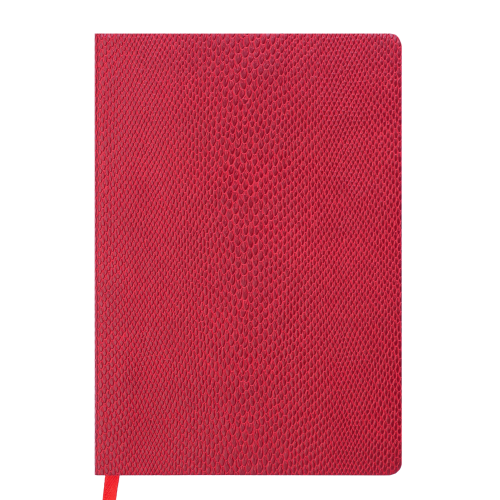 Ежедневник датированный 2019 WILD soft, A5, 336 стр., красный