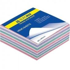 Блок бумаги ЗЕБРА 90х90х40мм склеенный